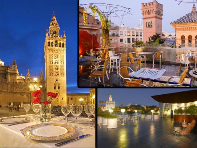 Terrazas Sevilla para reservar en restaurantes